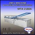 Mta-2180a doble mesa de vacío de membrana de prensa de la máquina, laminado de madera de la máquina