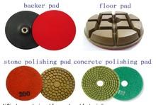 high quality factory supply resin bond concrete marble floor use diamond polishing pad
