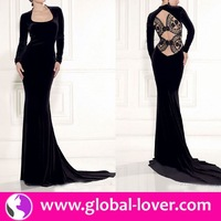 2015 factory price color combinations of dresses with black