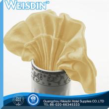 50*50cm manufacter polyester/cotton disposable party napkin serviette pumpkins