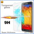 atacado do telefone móvel protetor de tela lcd filme protetor temperado vidro protetor de tela para samsung galaxy note 3