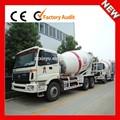 iyi performanslı mini kamyon beton karıştırıcı
