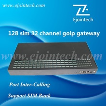 Anti Sim Blocking!!!32 port voip gateway with Imei Changer and sim rotation,cost effective voip gsm goip gateway IMEI change
