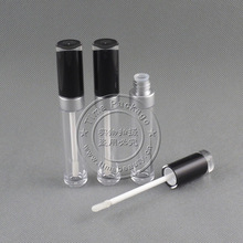 moq 1000pcs, AS high quality bottle 8ml lipgloss empty container lipgloss case