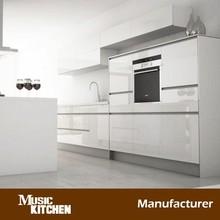 Knock down lacquer cabinet kitchen design modern