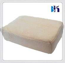 Soft and Durable Use Pure Sheepskin Tanned Chamois Leather Demister Pads For Screen Cleaning