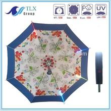 High quality and innovative design led umbrella auto open led umbrella