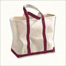 top quality black promotional cotton bag
