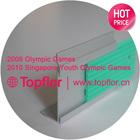 Topflor High Quality Metal Stair Nosing plastic anti-slip stair nosing