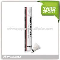 Winmax best selling good flight durable top grade badminton shuttlecock,badminton racket shuttlecock