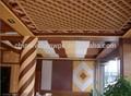baixa manutenção decorativa do pvc revestimento do teto com peso leve