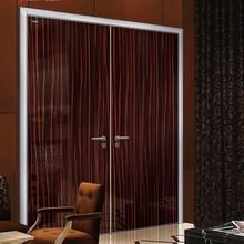Popular Single Wood Door Laminated Door Design For KTV Room