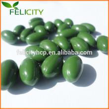 2015 Hot Sale Natural Vigor Green Aloe Vera Softgels
