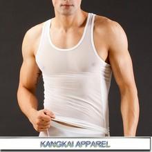 new designer soft men white transparent underwear sublimation sportswear K814-BX