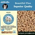 Ropa de cama de madera para los gatos, de pino pellets de madera de china fabricante