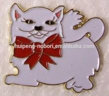custom animal design metal soft enamel lapel pin