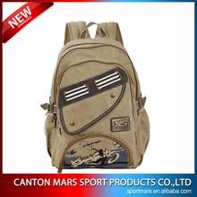China Supplier 16oz Cotton Rucksacks For School