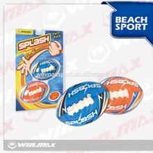 Popular funny colorful bright splash foam soccer ball,twin pack mini beach soft play foam ball