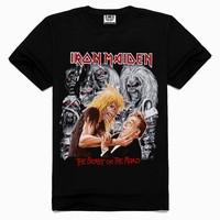2015 fashion cotton t shirts Rock band Printed Men's Men T Shirt T-shirt Short Sleeve Tshirt