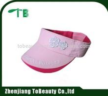child embroidery visor cap