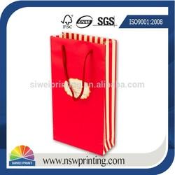 Decoration Handmade Paper Bag Shopping & Fancy Decorative Paper Bag For Gift