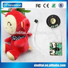 Monkey Shape Speaking and recordable Plush Toy