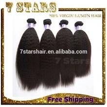 remy brazilian virgin hair Yaki New Arrival, Top Grade wholesale unprocessed virgin Brazilian hair
