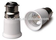 B22 to E27 Lamp holder converter,lamp base, lamp adapter