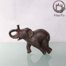 cast iron elephant sculptures for home Ornaments