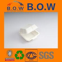 new product wedding hamburger packaging box wax coated paper food box