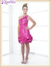 cheap red one shoulder short fashion gaon sexy party gambar sex dress