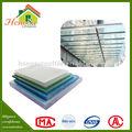 Fácil instalação anti- envelhecimento sólida cobertura de policarbonato