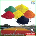 Carretera de pintura que hace de la materia prima de color del pigmento en polvo de color rojo/amarillo/negro/marrón/azul/naranja/verde óxido de hierro en polvo fino