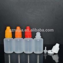 Wholesale price Plastic dropper Bottle empty pe plastic eliquid bottles 20ml e juice bottle