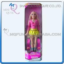Mini Qute 93 cm big size beautiful America Latex kid fashion Plastic doll decoration educational toy with shoes NO.YS0835-1