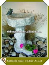 cheap garden/outdoor natural stone birdbath for sale