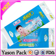 YASON plastic specimen bags printed perforated plastic dry cleaning bag plastic table cover /table sheet /table cloth