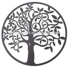 2015 New Metal Crafts Metal Wall Tree Of Life Decor Wall Hanging Sculptures Garden Art
