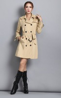 2015 New Fashion Winter Long Style Modern Cotton Fabric High Quality Western Design Cheap Wholesale Price Formal New Ladies Coat