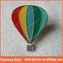 2015 Wholesales High Quality Custom Fancy Hot Air Balloon Badge Pin