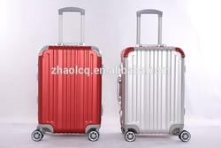 Aluminum mental suitcase, carry-on luggage, stylish design