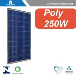 Photovoltaic pv solar panel / solar module 250W solar grid type system