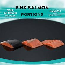 IQF Frozen Pink Salmon Portion