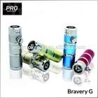 high technology 2015 PROESMOKER pyrex bravery G mini protank mechanical mod pipe and drape kits