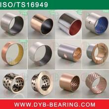 Bush DX Sleeve DU PTFE Bimetal Steel bronze alloy bearing,dry bearing harvest machine brass bushing,slide bearing steel backed