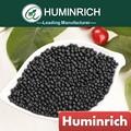 Huminrich recubierto de nutrientes de ácido amino 70% granular ácido húmico