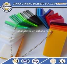 china supply colored/transparent plexiglass 8mm