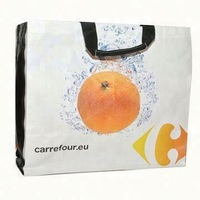 top quality pp non woven grocery shopping tote bag