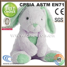 Stuffed with 100% pp cotton customized plush bunny