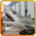gran tiburón blanco animatronic animales de dibujos animados